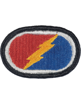 0004 Brigade 25th Infantry Division Airborne Oval (PO-0004D)