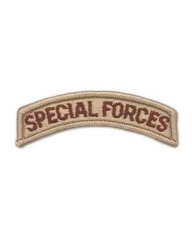 Special Forces Tab (PT-108-SD) Desert
