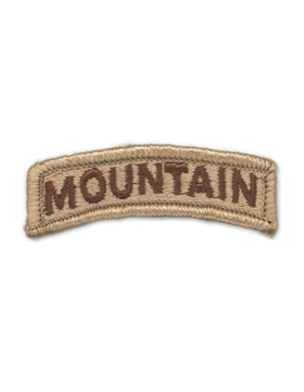 Mountain Tab (PT-110-SD) Desert