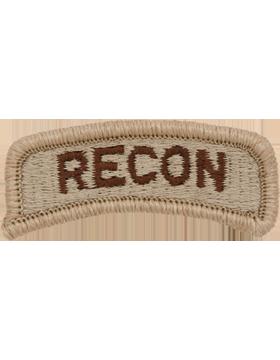 Recon Tab