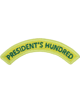 President's Hundred Tab