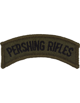 Pershing Rifles Tab (PT-121S) Subdued