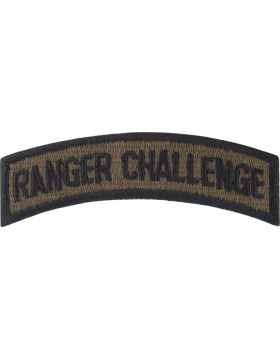 Army Ranger Challenge Tab (PT-132) Subdued