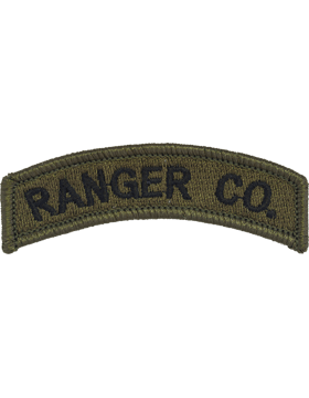 Ranger Company Tab (PT-134) Subdued