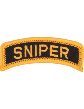 Sniper Tab (PT-SNIPER) Full Color Gold on Black