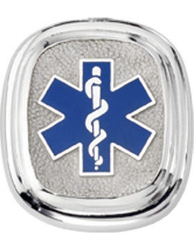 EMT Tie Tac Style 4 Sterling Silver