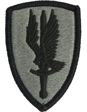 1st Aviation Brigade ACU Patch with Fastener