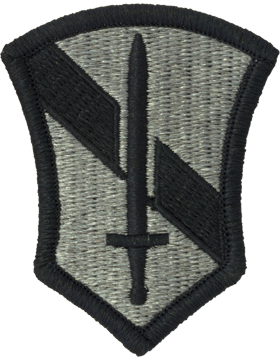 1st Field Force ACU Patch with Fastener