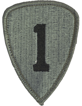 1st Personnel Command ACU Patch with Fastener