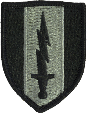 1st Signal Brigade ACU Patch with Fastener