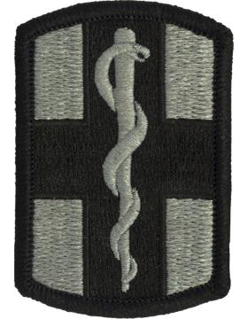 0001 Medical Brigade ACU Patch with Fastener (PV-0001L)