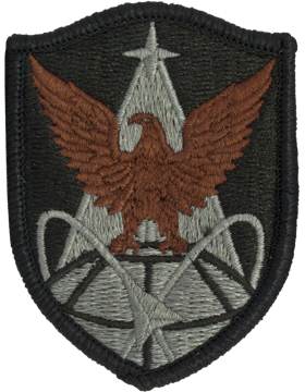 1st Space Brigade ACU Patch with Fastener