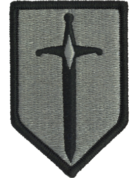 1st Maneuver Enhancement Brigade ACU Patch with Fastener