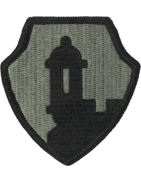 1st Mission Support Command ACU Patch with Fastener
