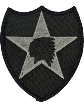 2nd Infantry Division ACU Patch with Fastener
