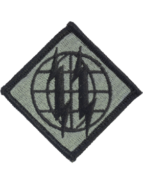 2nd Signal Brigade ACU Patch with Fastener