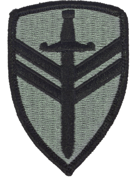 2nd Support Brigade ACU Patch with Fastener