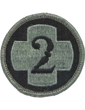 2nd Medical Brigade ACU Patch with Fastener