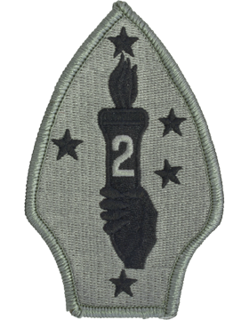 0002 Marine Divison ACU Patch with Fastener (PV-0002U)