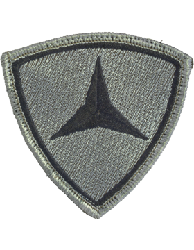 0003 Marine Division ACU Patch with Fastener (PV-0003U)