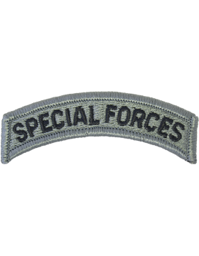 Special Forces Tab with Fastener