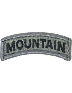 Mountain Tab ACU with Fastener