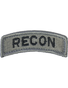 Recon Tab ACU with Fastener