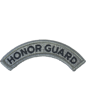 Honor Guard Tab ACU with Fastener