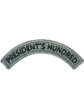 President's Hundred Tab with Fastener