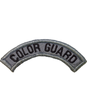 Color Guard Tab with Fastener
