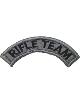 Rifle Team Tab ACU with Fastener