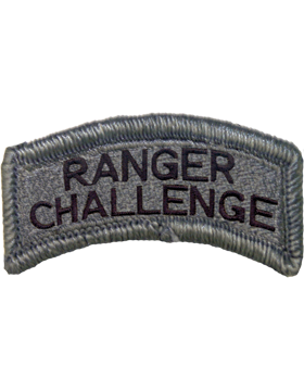 Ranger Challenge Tab with Fastener