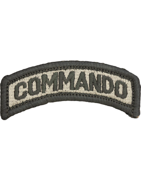 Commando Tab with Fastener