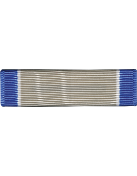 U.S. Coast Guard Silver Lifesaving Medal Ribbon