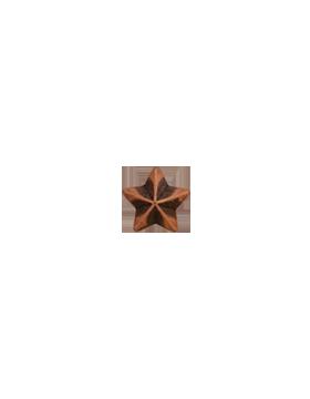 Ribbon Device, 5/16 Bronze Star small