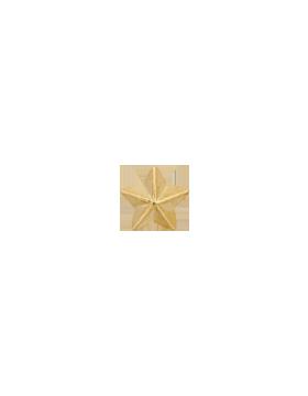 Ribbon Device, 5/16 Gold Star small