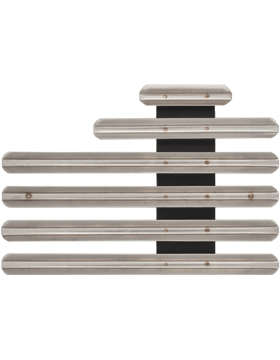 15 Ribbon Mount Eighth Inch Gap Staggered Right Metal