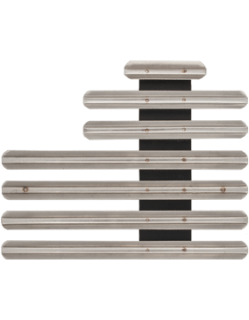 17 Ribbon Mount Eighth Inch Gap Staggered Right Metal
