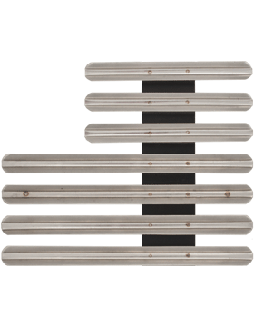 18 Ribbon Mount Eighth Inch Gap Staggered Right Metal