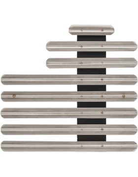 20 Ribbon Mount Eighth Inch Gap Staggered Right Metal