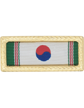 Korean Presidential Army Unit Citation (Ribbon and Frame)