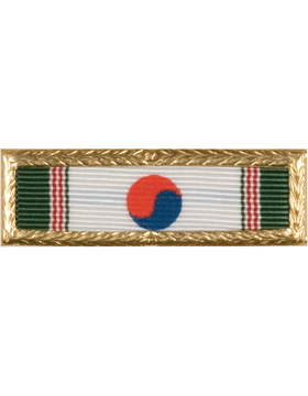 Korean Presidential AF/Navy Unit Citation