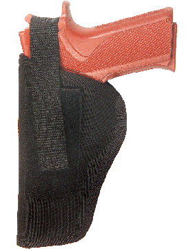 Medium Ambidextrous Holster Black Nylon 53AM