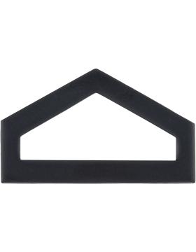 ROTC Black Metal (RC-B102) Private First Class