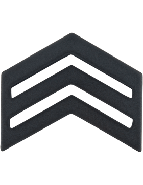 ROTC Black Metal (RC-B104) Sergeant