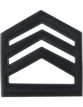 ROTC Black Metal (RC-B105) Staff Sergeant