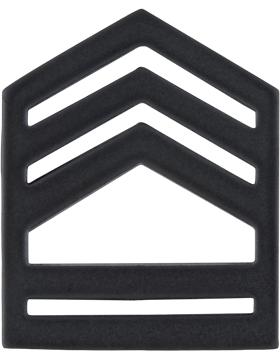 ROTC Black Metal (RC-B106) Sergeant First Class