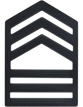 ROTC Black Metal (RC-B107) Master Sergeant