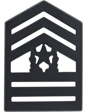 ROTC Black Metal (RC-B110) Command Sergeant Major