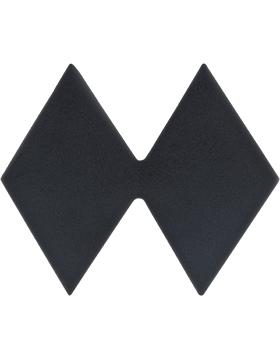 ROTC Black Metal (RC-B125) Lieutenant Colonel (Two Diamonds)